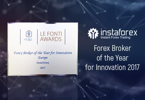 InstaForex wurde bei den Le Fonti Awards für seine innovativen Leistungen ausgezeichnet